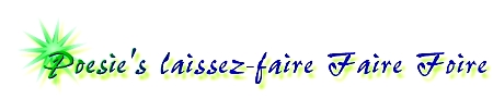 Poesie's laissez-faire Faire Foire