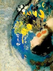 Odilon Redon (1840-1916)   OPHELIA