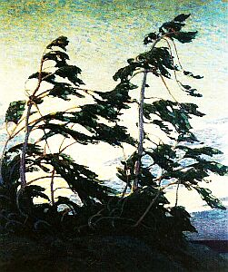 Tom Thomson (Canadian: 1887-1917) Pines: Georgian